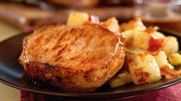 Grilled Citrus Pork Chops