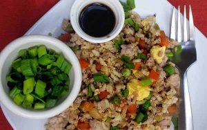 Easy Oriental Pork & Quinoa