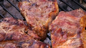 BBQ Sauced Steaks