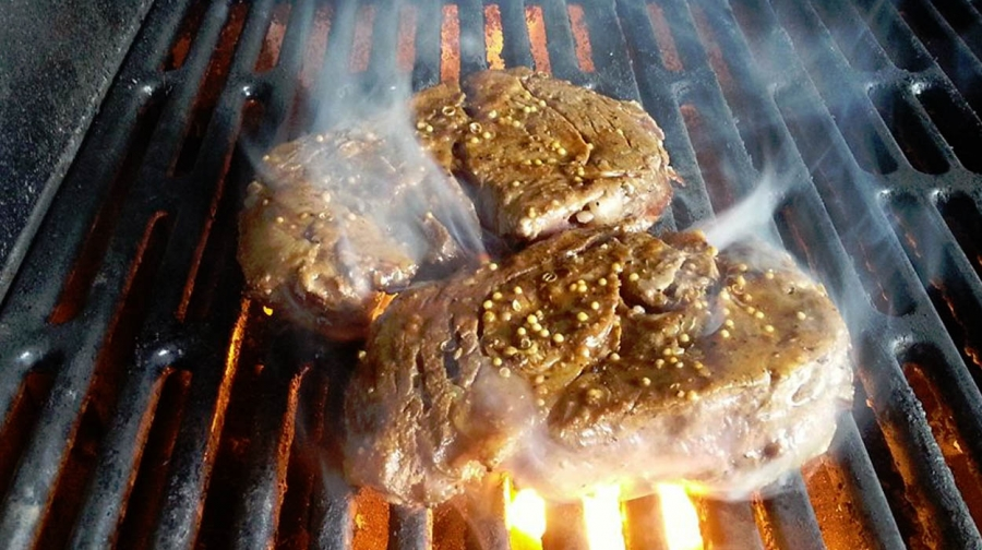 Ribeyes – From Oven To Grill