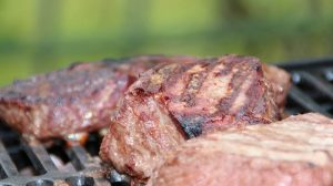 Grilled Horseradish Steaks