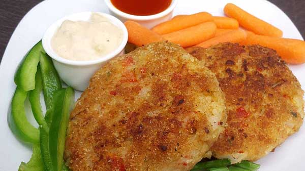 Slightly Spicy Crab Cakes